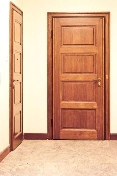 Säkerhetsdörr TR341 - Ett lås, full säkerhet