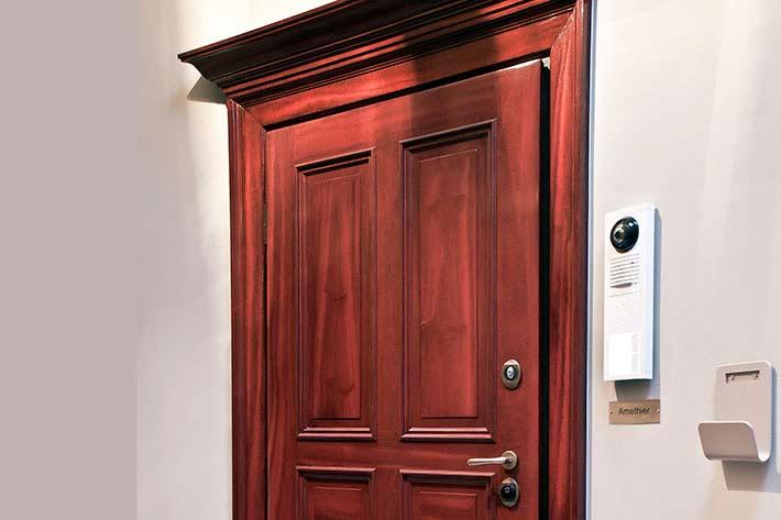 Linx - motoriserad dörr